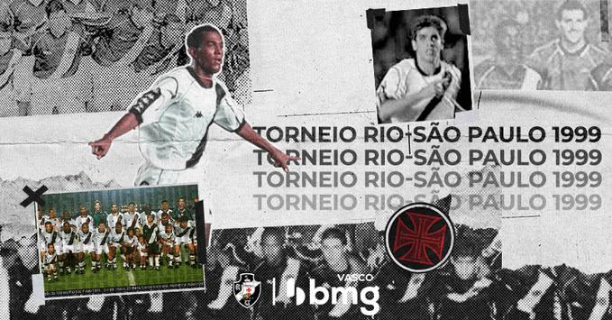 Vasco campeão do Torneio Rio-São Paulo
