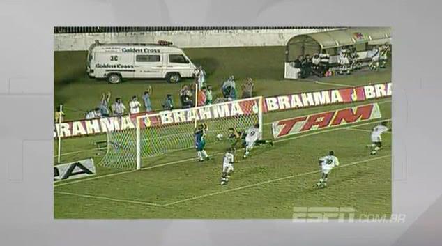 Vasco goleou o Madureira por 8×1 em 1999