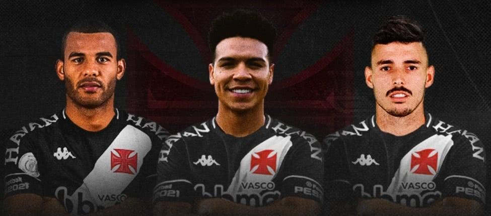 Os três primeiros reforços do Vasco para 2021