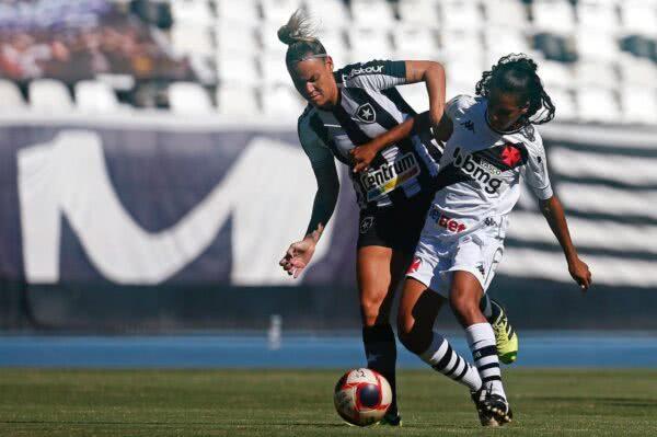Meninas do Vasco perderam para o Botafogo