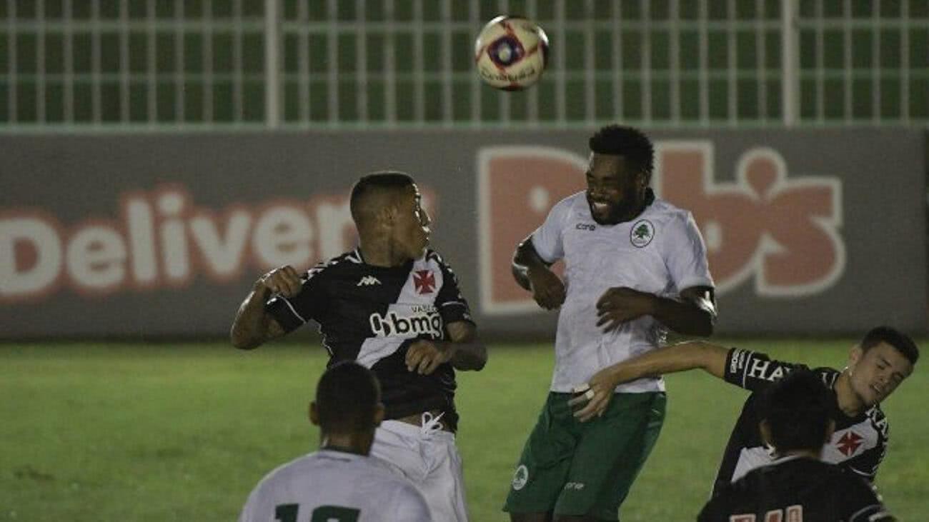 Boavista 2 x 2 Vasco pelo Carioca 2021