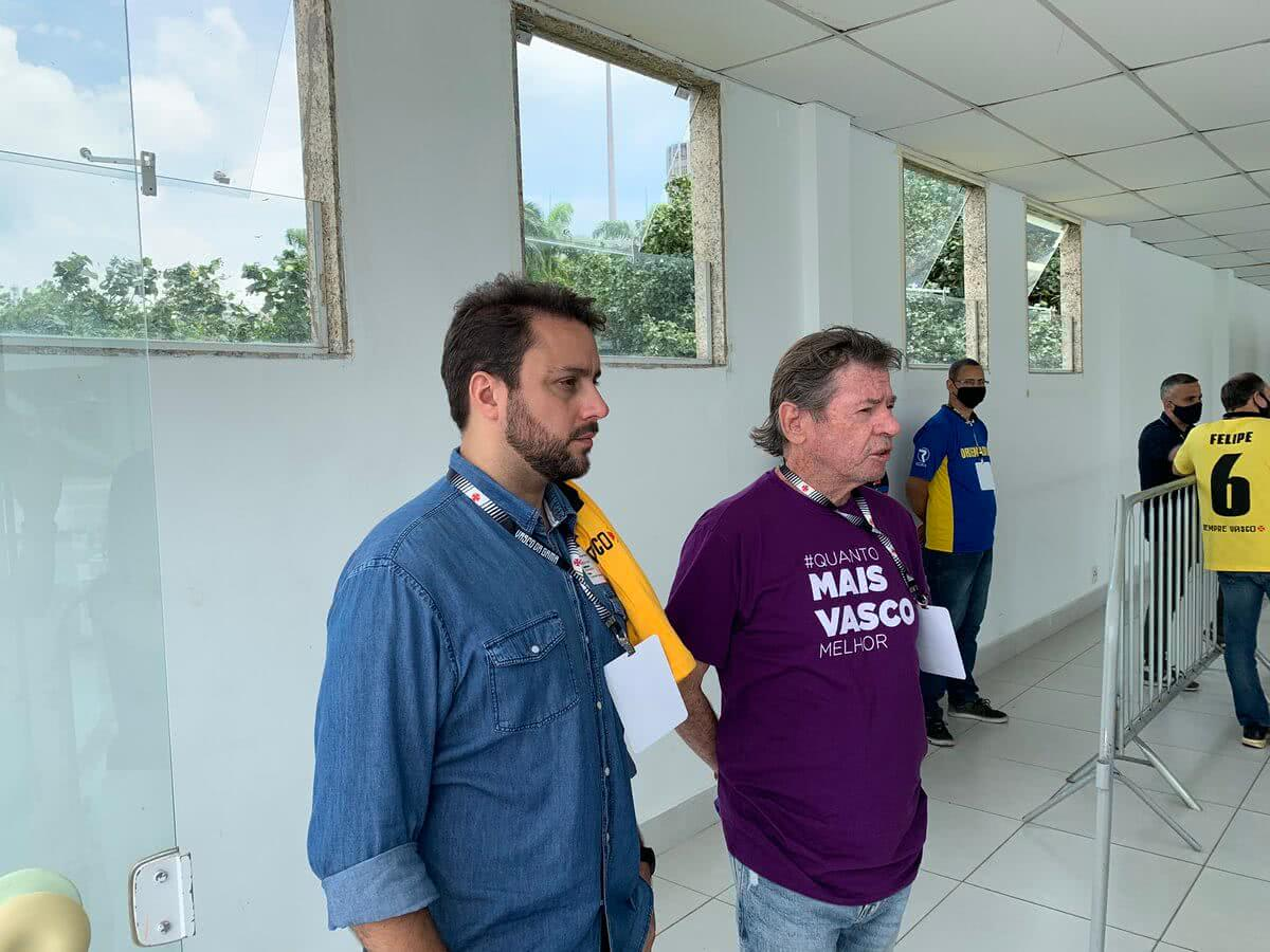 Julio Brant e Jorge Salgado na eleição do dia 14 de novembro