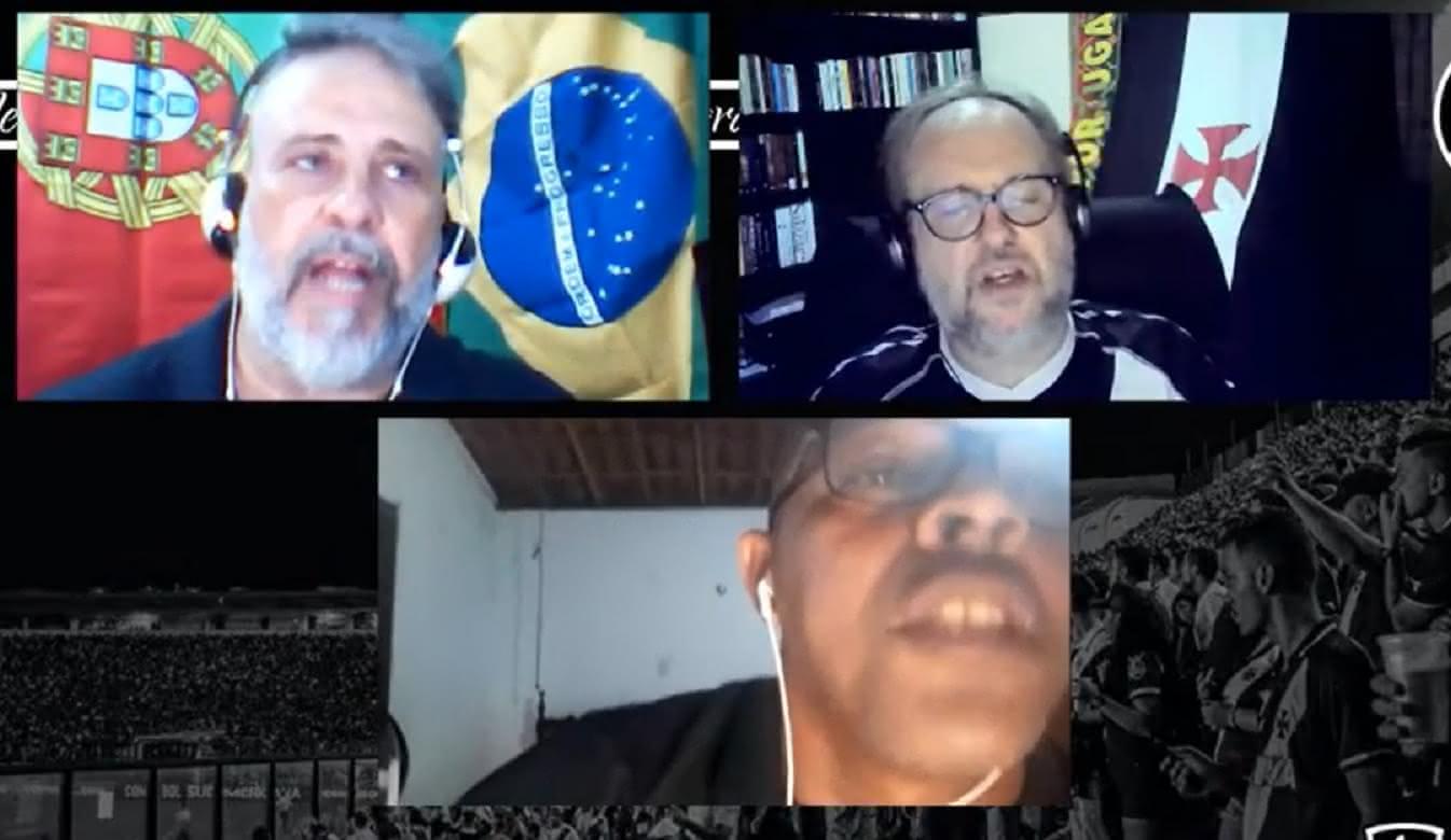 Junior Negão em live no Canal do Calheiros