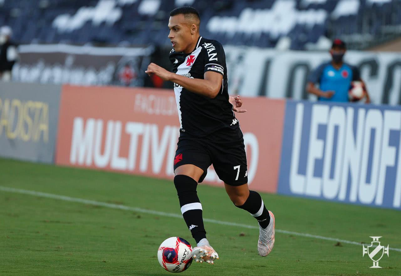 Léo Jabá durante o jogo contra o Resende