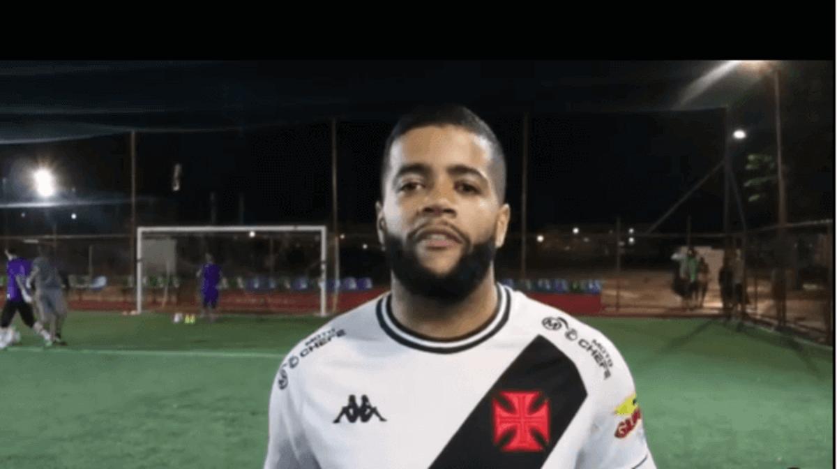 Lukinhas, novo reforço do Futebol 7 do Vasco da Gama
