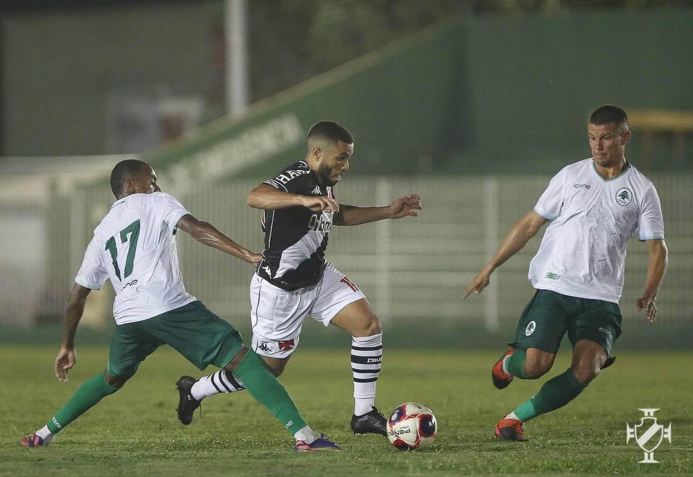 Morato em jogo contra o Boavista no Carioca 2021