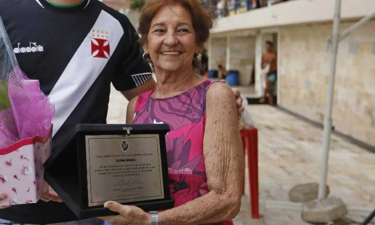 Silina Braga, ex-atleta de saltos ornamentais do Vasco