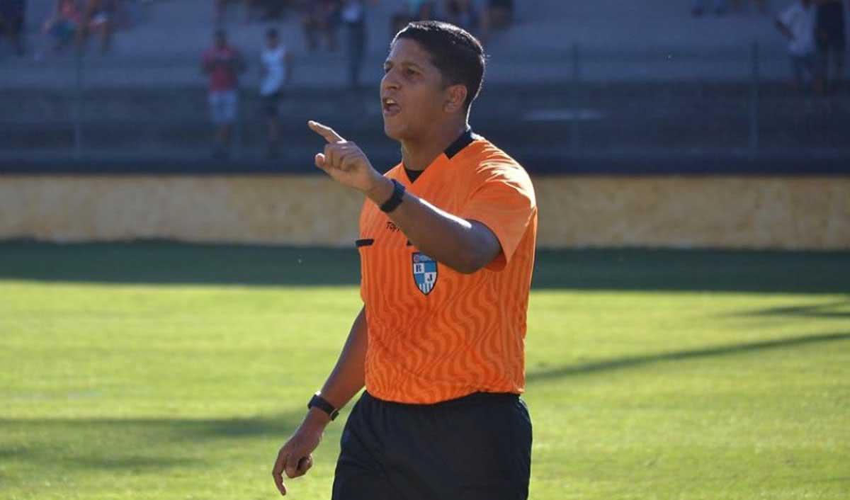 Tarcizo Pinheiro Caetano, árbitro da FERJ