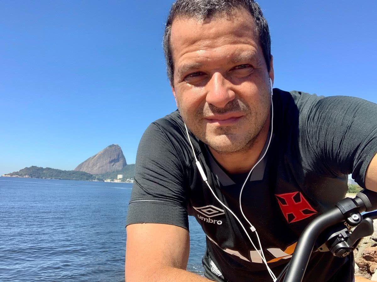 Vitor Roma é o vice-presidente de marketing do Vasco