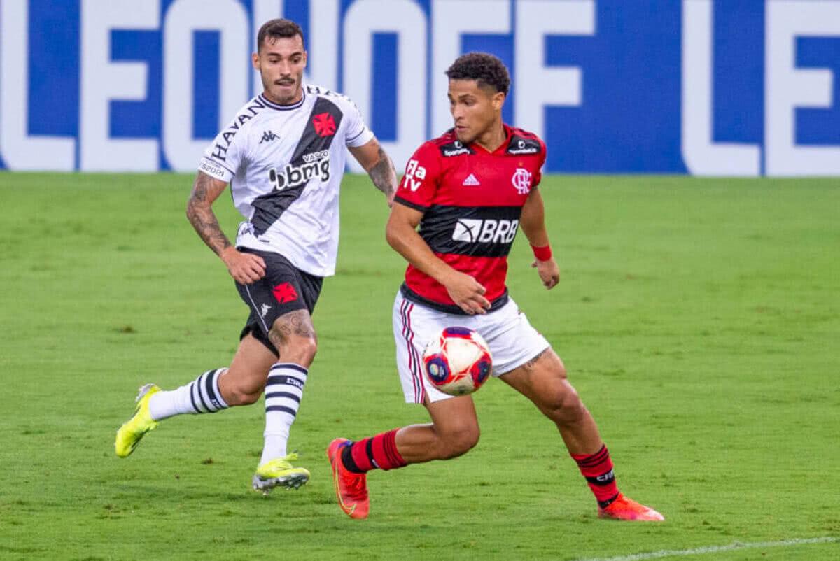 Zeca durante o jogo contra o Flamengo