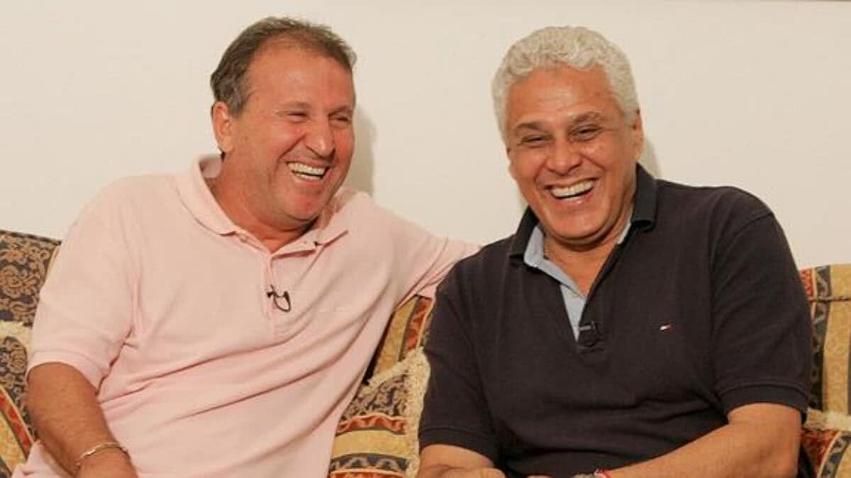 Zico e Roberto Dinamite