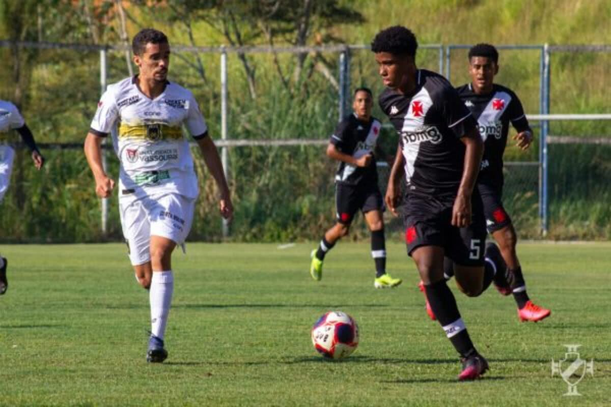 Andrey em ação pelo Campeonato Carioca Sub-20
