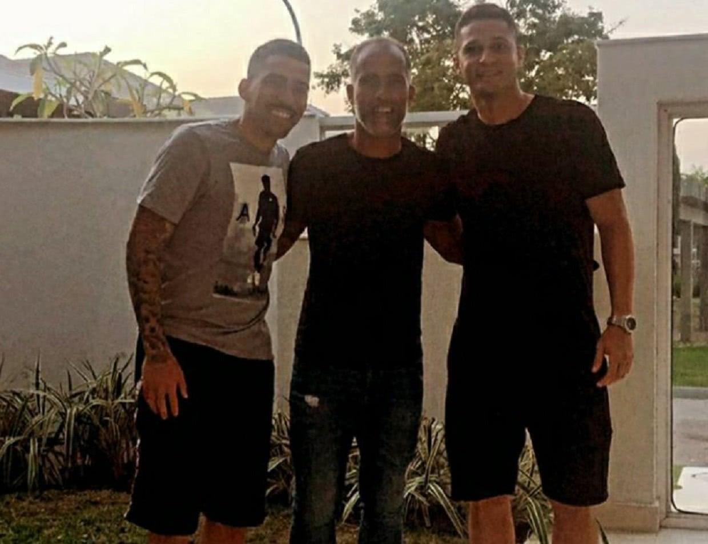 Allan, Felipe e Anderson Martins se reuniram no Rio de Janeiro