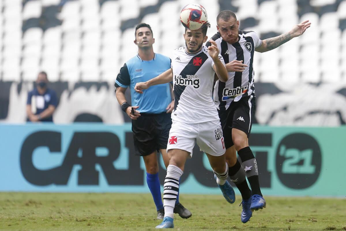 Andrey durante o jogo contra o Botafogo