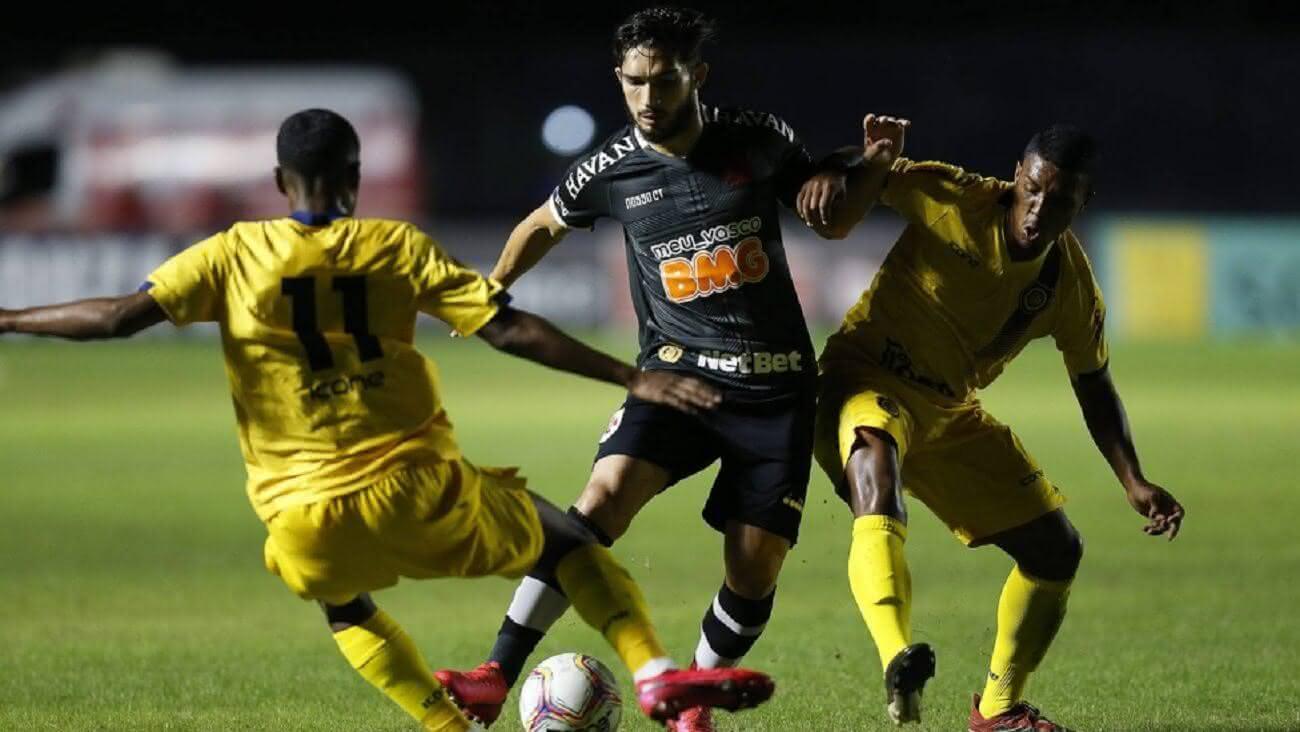 Andrey atuando contra o Madureira no Carioca 2020