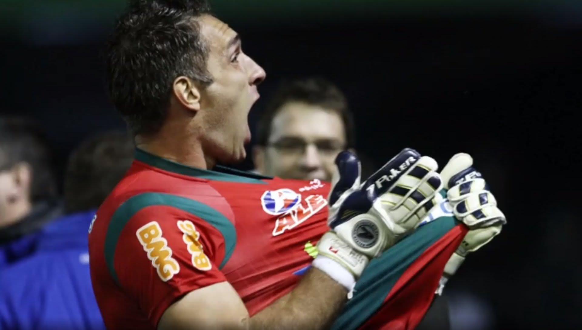 Fernando Prass defendeu o Vasco entre 2009 e 2012