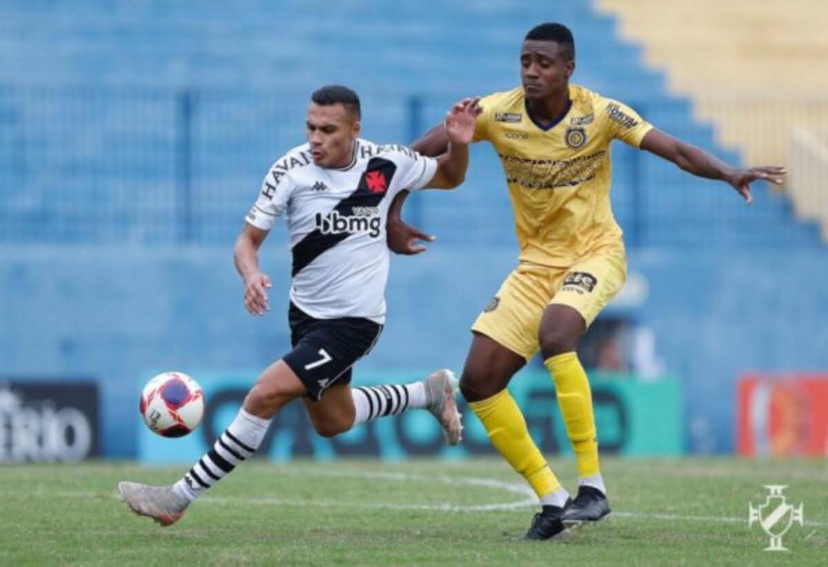 Léo Jabá durante o jogo contra o Madureira