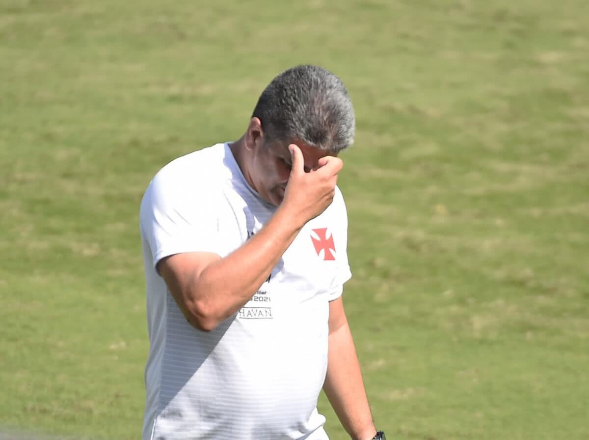 Marcelo Cabo durante jogo contra o Operário-PR