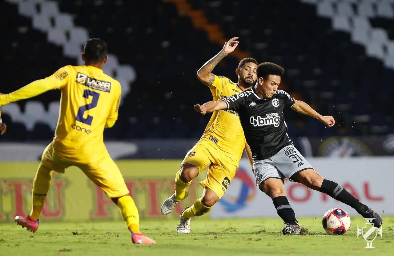 Marquinhos Gabriel durante o jogo contra o Madureira