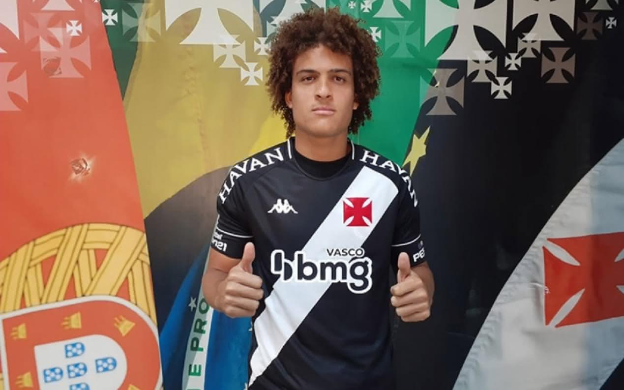 Neto Borges foi contratado pelo Vasco em 2020