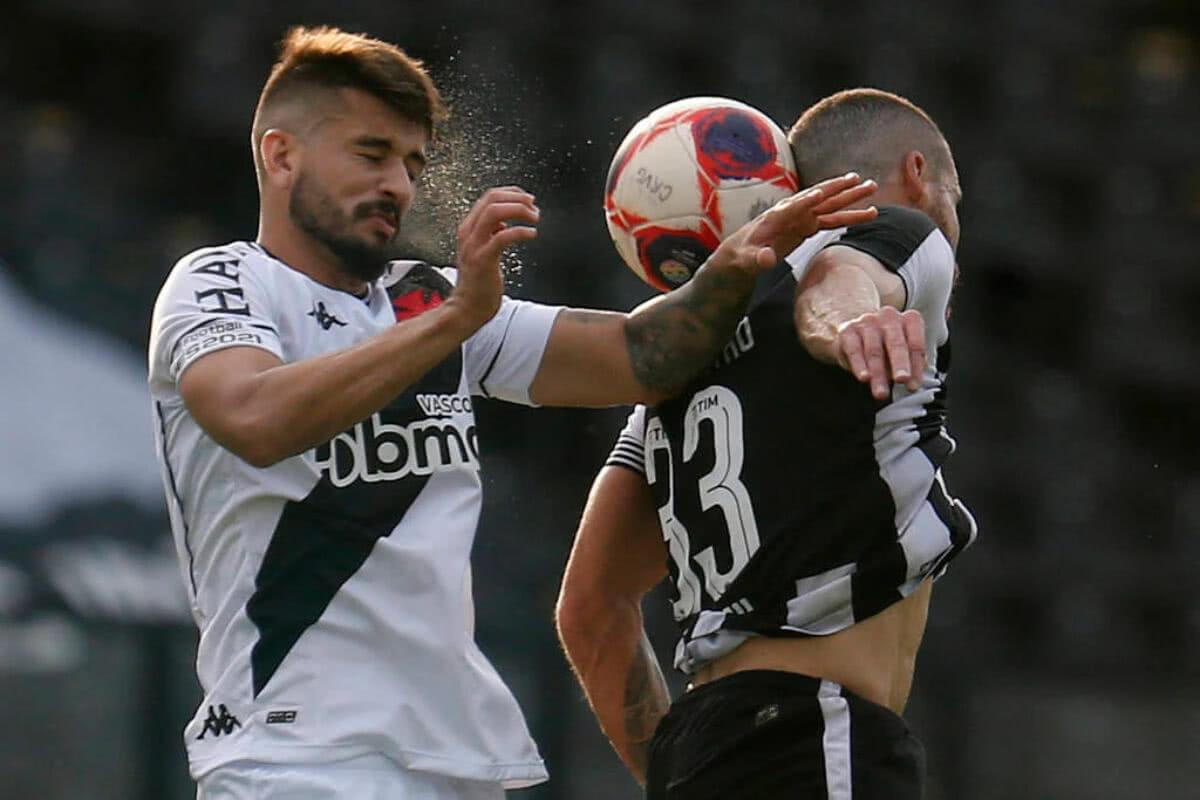 Ricardo Graça durante o jogo contra o Botafogo