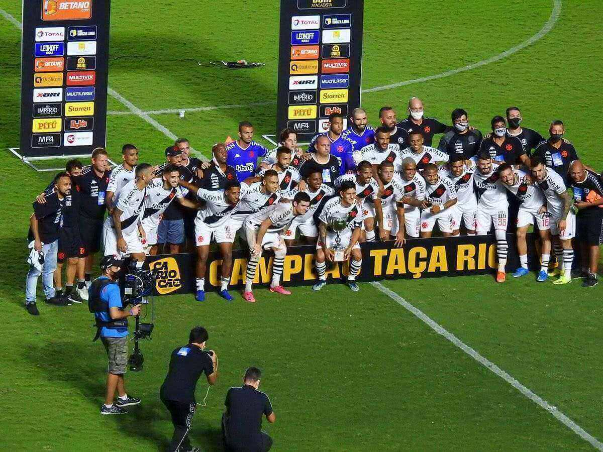 Vasco conquista a Taça Rio 2021