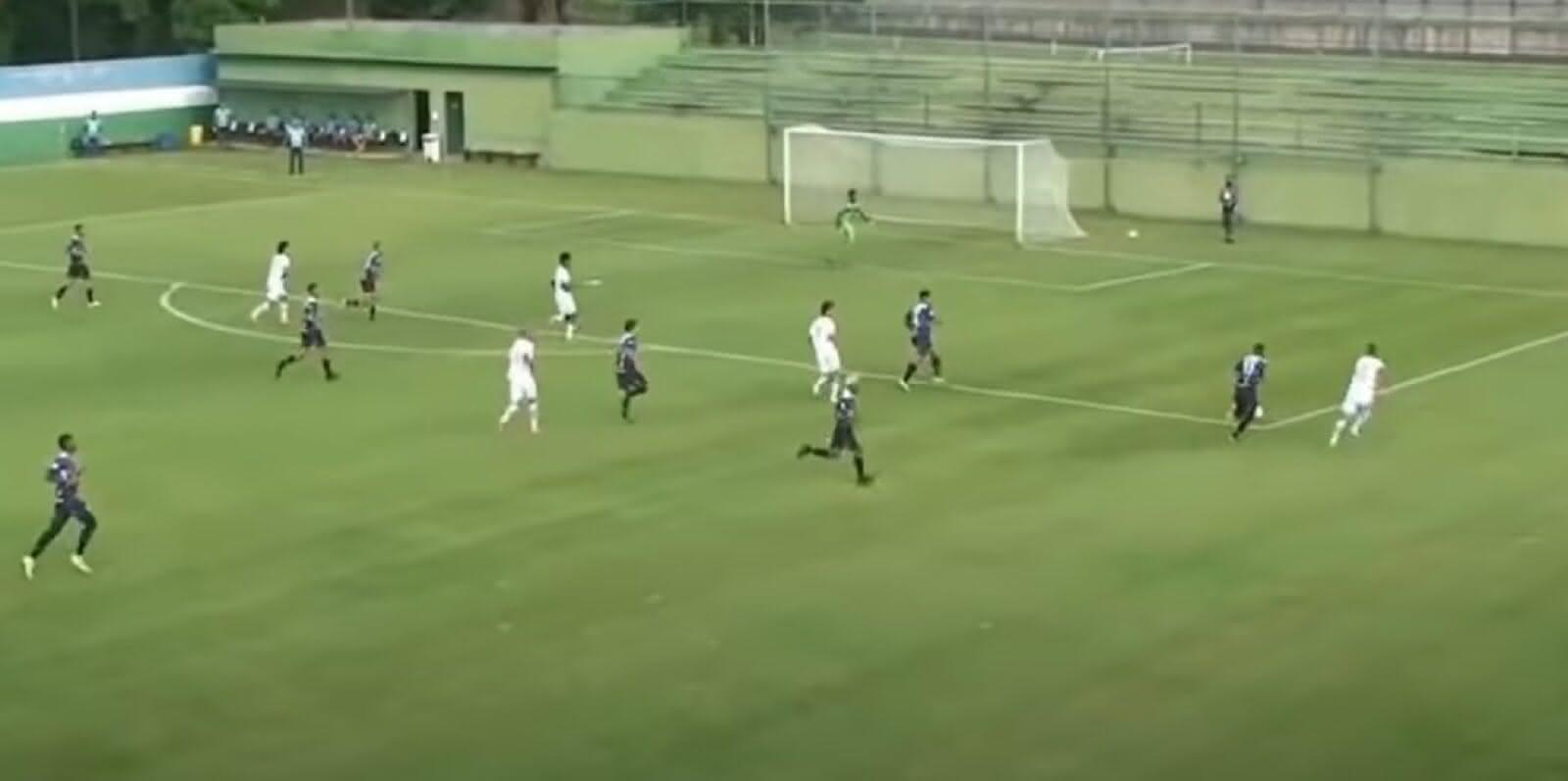 Vasco 4 x 2 São Raimundo-RR pela Copa do Brasil Sub-20