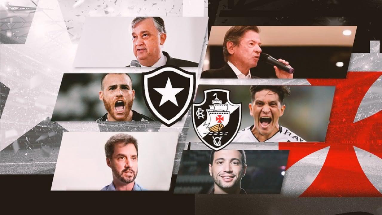 Vasco e Botafogo têm semelhanças e diferenças nesta temporada