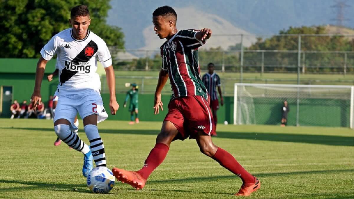 Vasco empata com o Fluminense pelo Brasileiro Sub-17