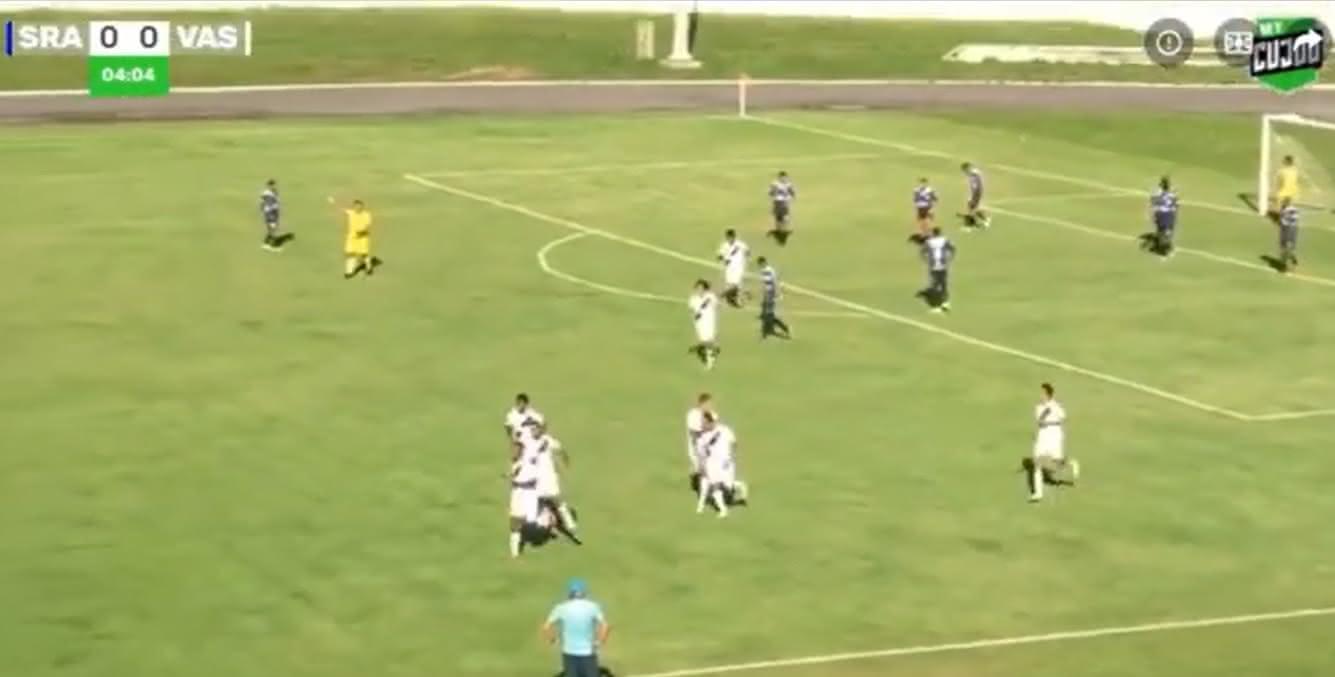 Vasco venceu o São Raimundo por 3x1, em Roraima