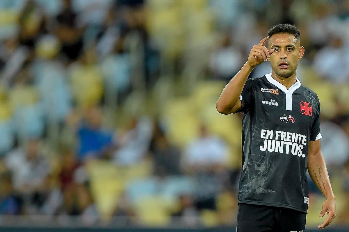 Werley em ação pelo Vasco contra o Resende em 2019