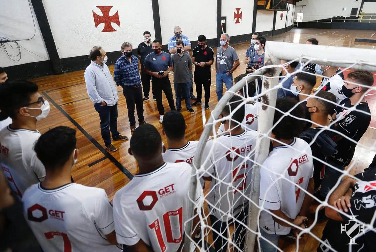 Equipes de futsal do Vasco