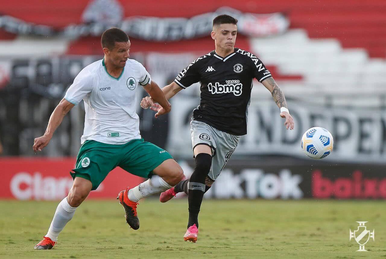Gabriel Pec durante o jogo contra o Boavista
