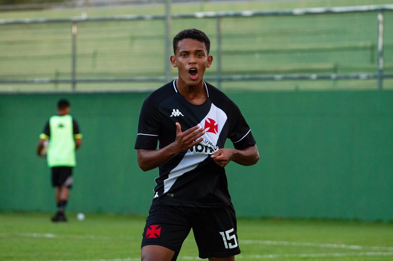 Kauan Pereira, jogador do Sub-17 do Vasco