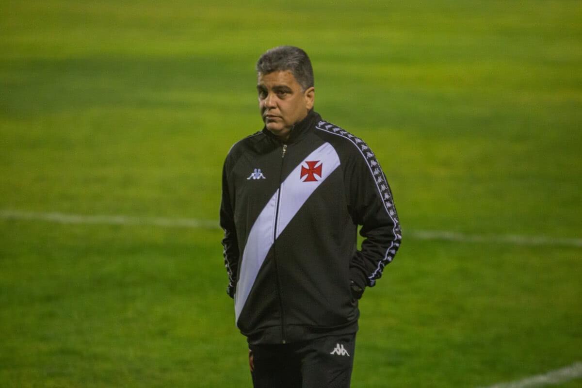 Marcelo Cabo durante jogo contra o Brasil de Pelotas