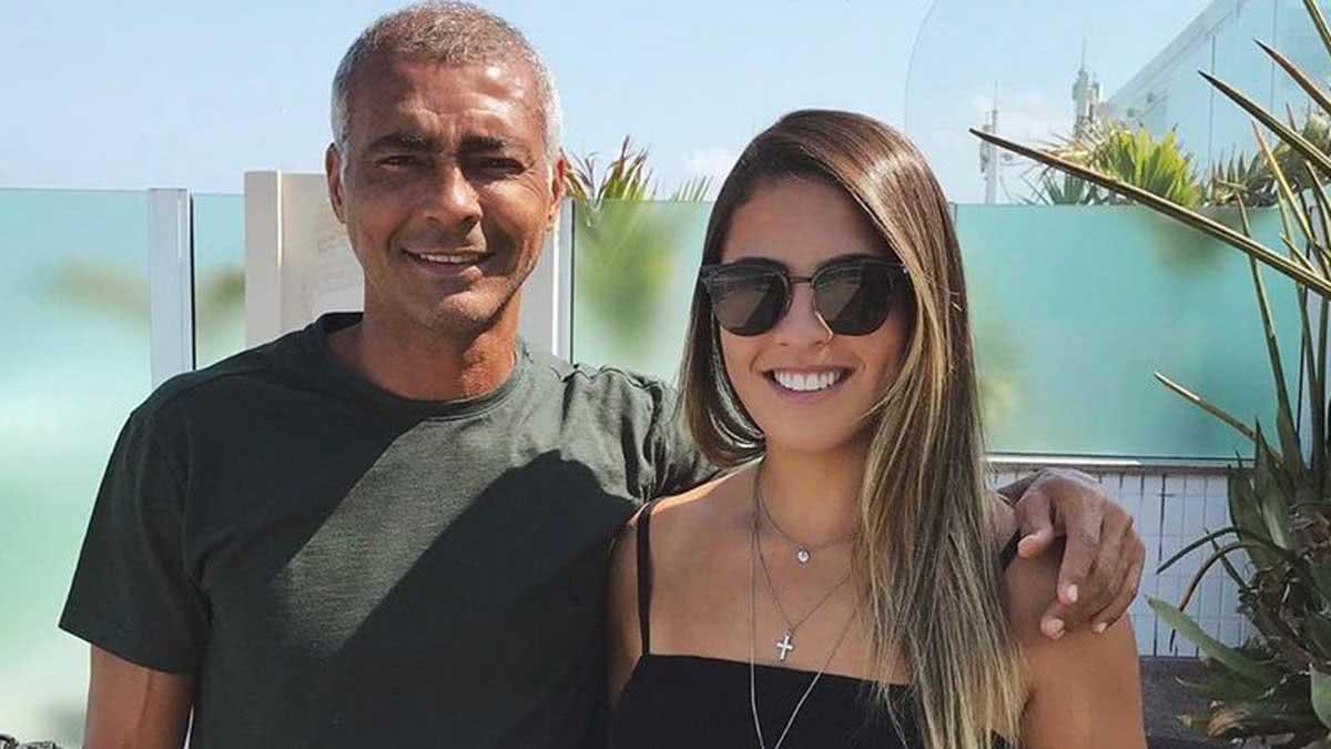 Danielle Favatto e Romário