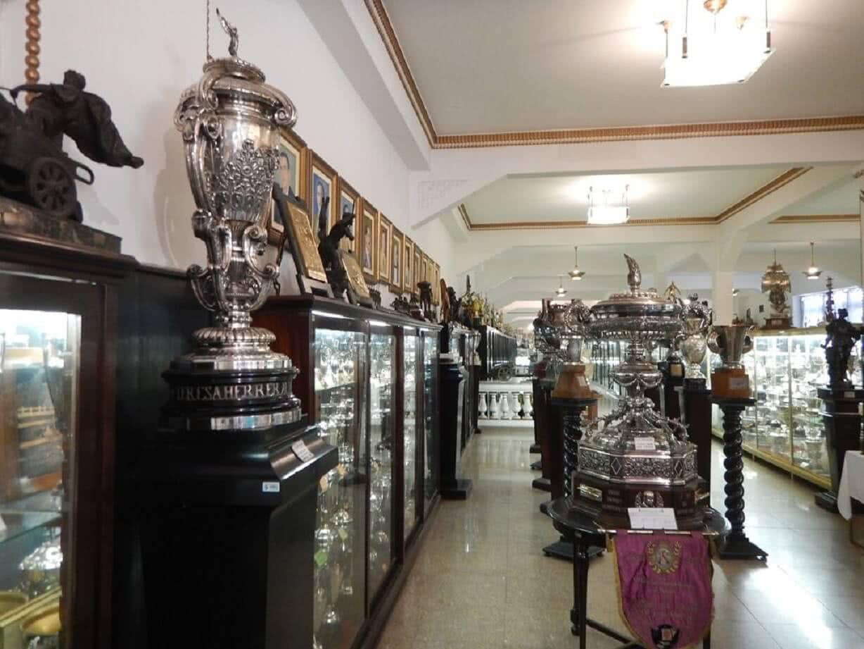 Sala de troféus do Vasco em São Januário