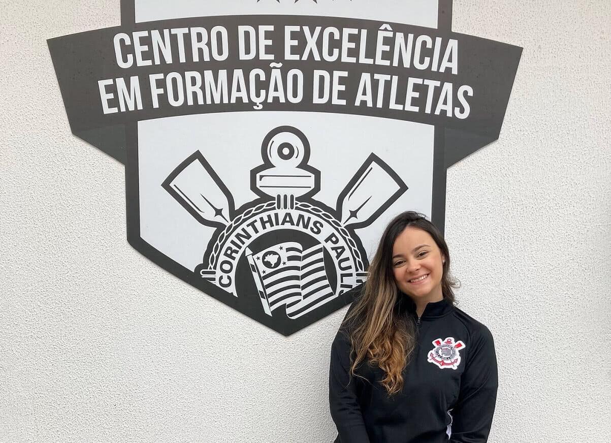 Sarah Borborema deixou o Vasco para acertar com o Corinthians