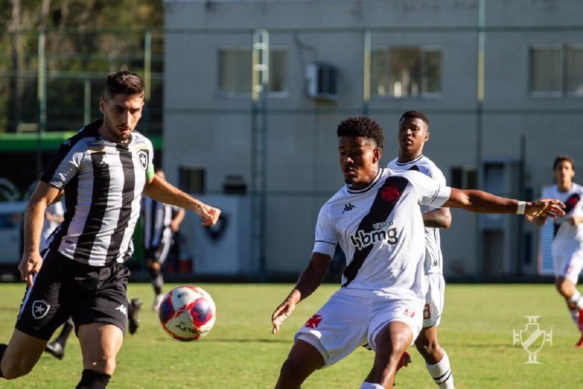 Vasco e Botafogo empataram nesta quarta-feira