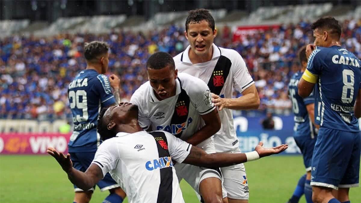 Vasco venceu o Cruzeiro no Mineirão em 2017