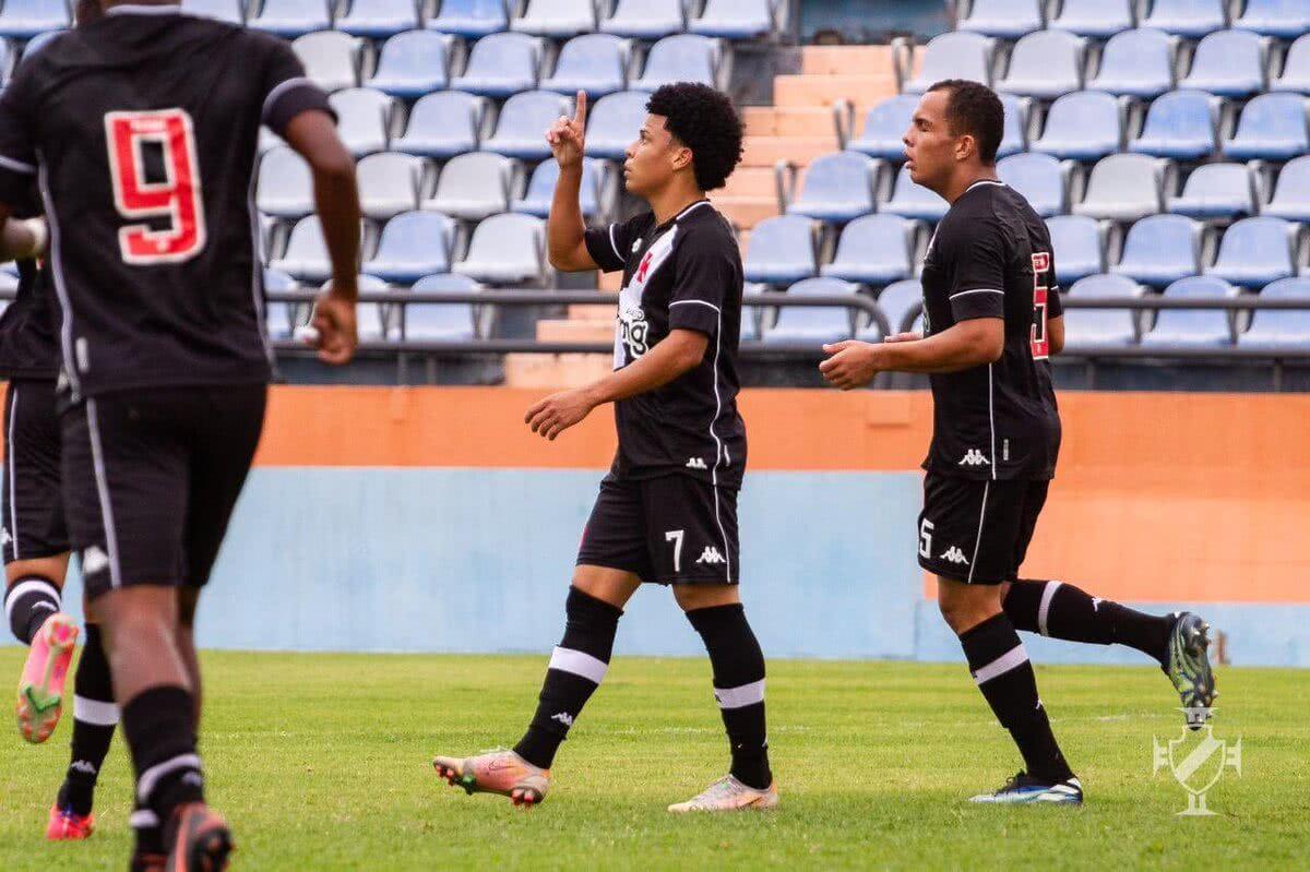 Jogadores do Vasco Sub-20