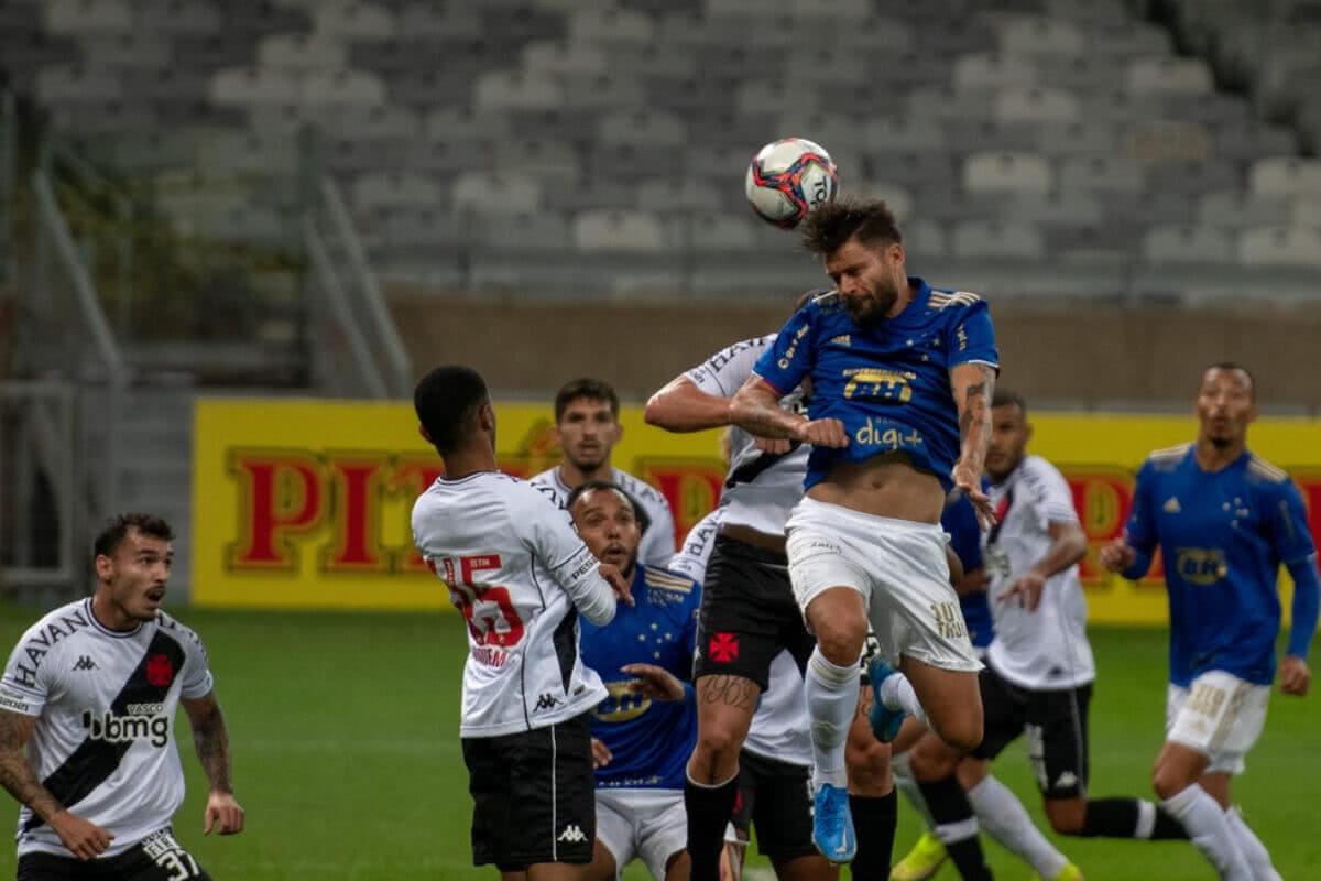 Vasco perde para o Cruzeiro no Mineirão