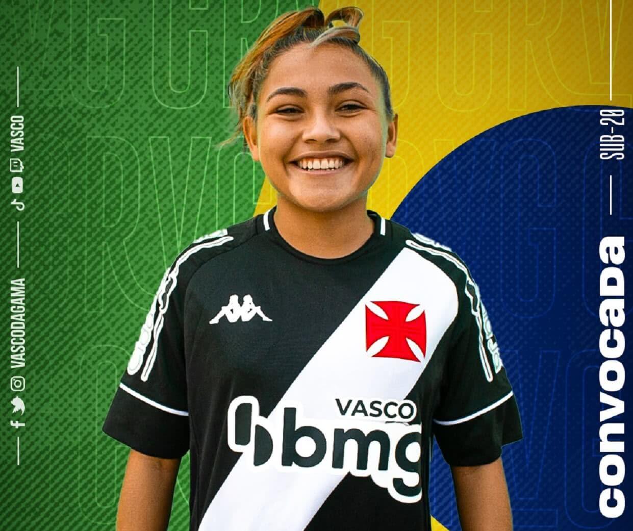 Nayra Pimentinha foi convocada à Seleção Sub-20