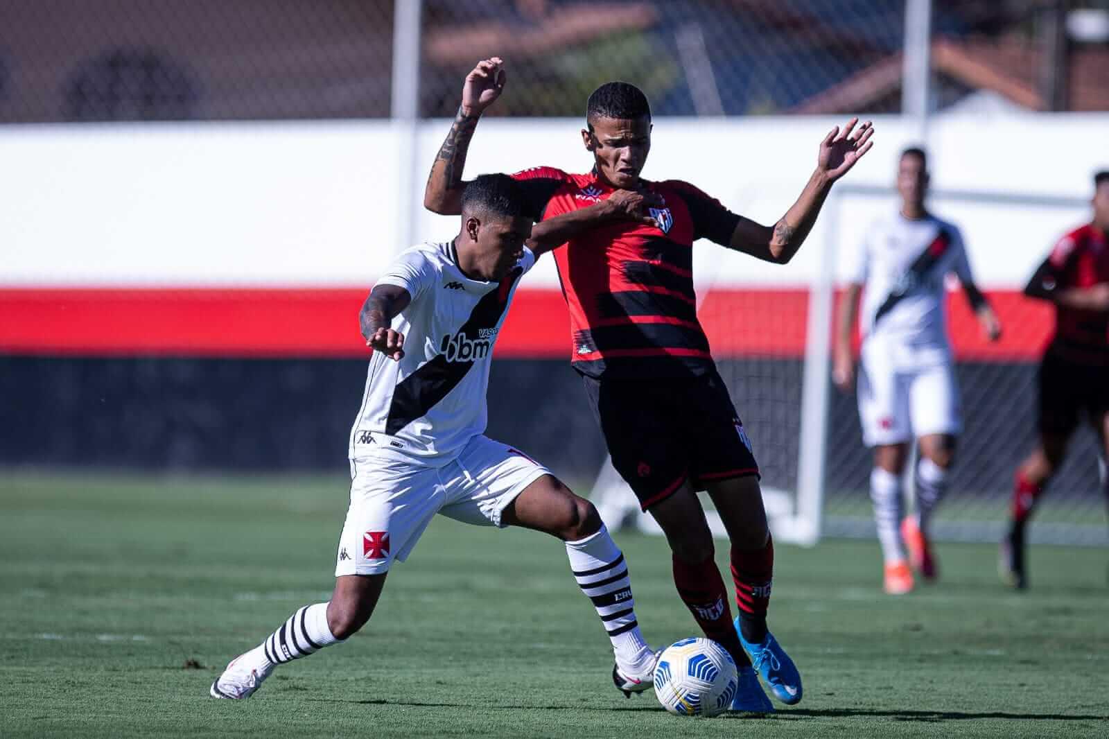 Vasco é superado pelo Atlético-GO pelo Campeonato Brasileiro Sub-20