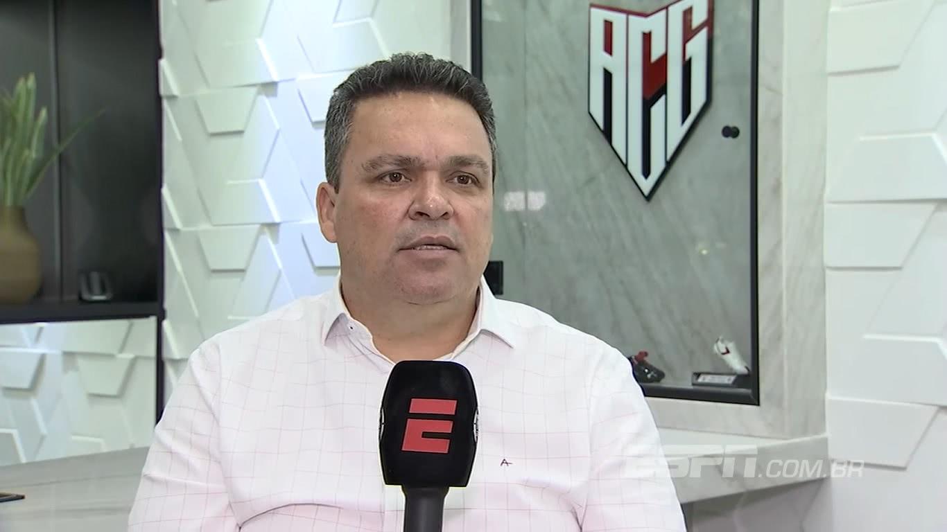 Adson Batista é o presidente do Atlético-GO
