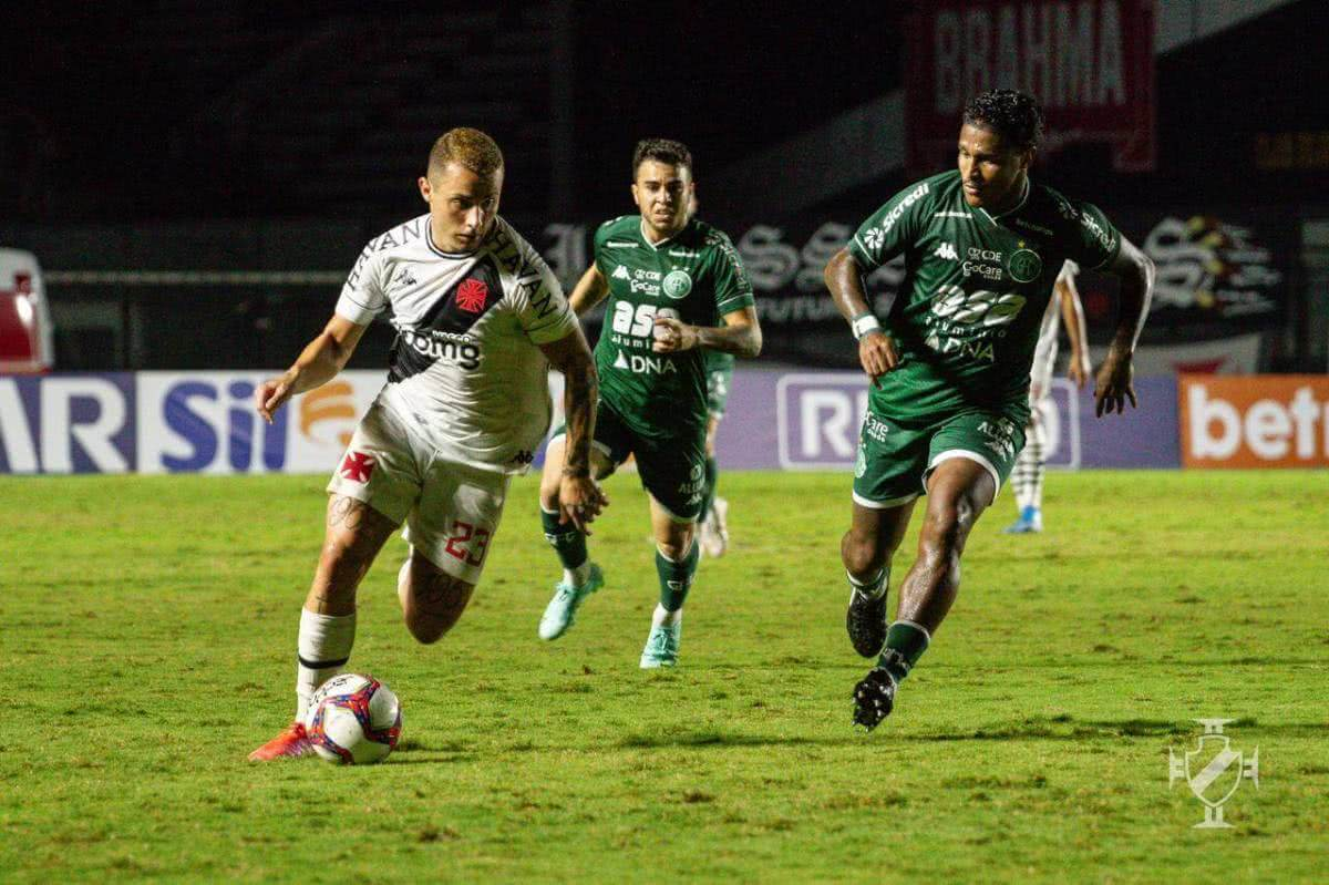Bruno Gomes durante o jogo contra o Guarani