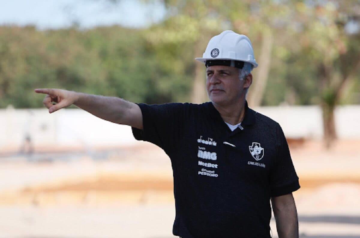 Carlos Leão, ex-VP de Finanças do Vasco