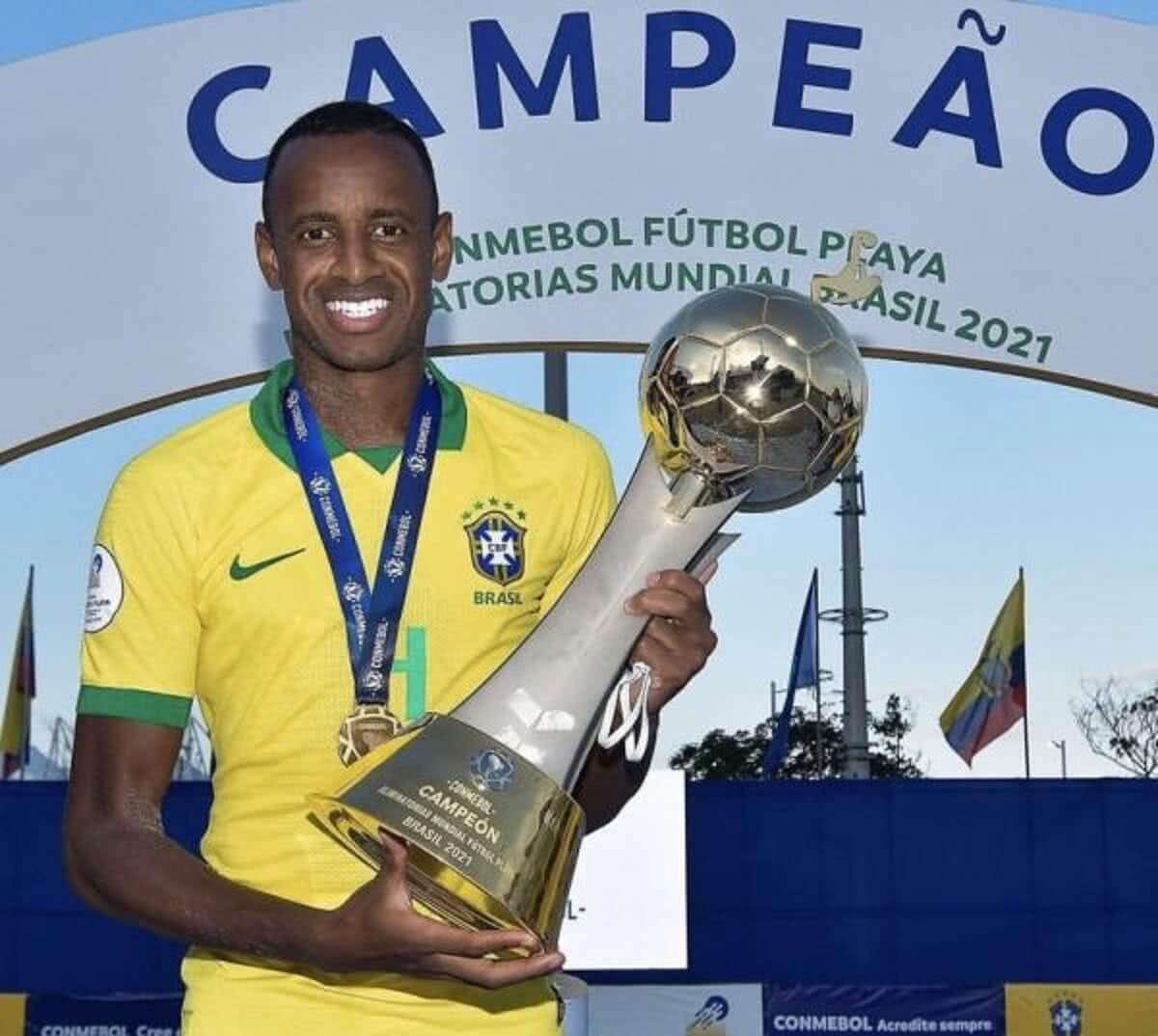 Catarino conquistou as Eliminatórias pela Seleção de Beach Soccer