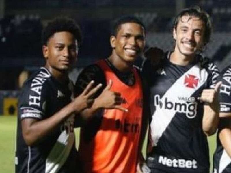 Respectivamente, Cayo Tenório, Juninho e Caio Lopes