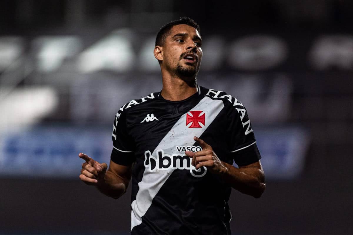 Daniel Amorim marcou o 2º gol do Vasco contra o CSA